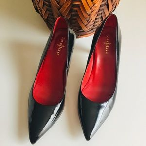 Cole Haan Nike Air Patent Leather Pumps